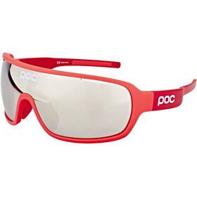 POC DO Blade Bril, bohrium red